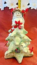 1994 Dreamsicles Christmas Cherub On Christmas Tree Signed Figurine Cast Art image 8
