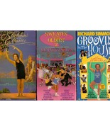 Lot of 3 Richard Simmons VHS Tape Sweatin ti the Oldies 2 Groovin House ... - $19.75