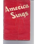 America Sings Community Songbook Robbins Edition 1930s 1940s - $4.95