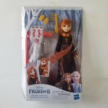 Disney Frozen 2 Sister Styles Anna Fashion Doll Braiding Tool and Hair C... - $19.34