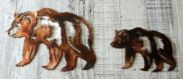 Mother and Baby Bear Combo Wall Art Accents - $33.65