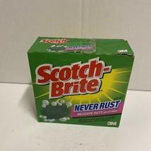 Scotch Brite Never Rust Delicate Duty Soap Pads HTF  - $149.99