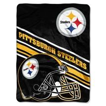 Pittsburgh Steelers 60x80 Premium Plush Throw - $46.53