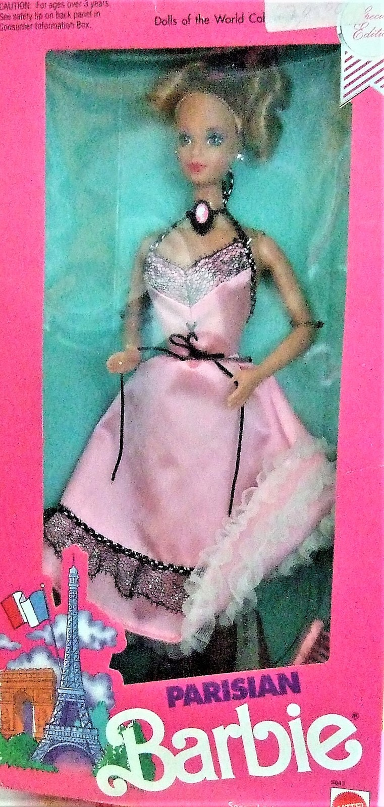 Parisian Barbie Doll Dolls of The World Second Edition