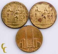 1939 New York World Fair 3 pc Medal Lot - $38.61