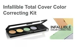 L'Oreal Infallible Total Cover 225 Color Correcting Kit New AND Sealed - $6.99