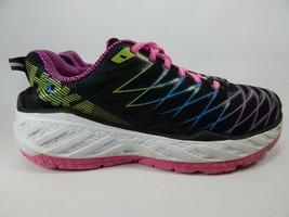 Hoka One One Clayton 2 Size 9.5 M (B) EU 42 Women's Running Shoes Black 1014777