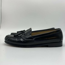 COLE HAAN Mens Cordovan Tassel Leather Dress Shoes Loafers, Size 9 - $24.75