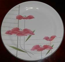 1989 Sango CHARMANTE PATTERN Chop Plate/Platter ANDRE RICHARD - $14.84