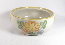 "Louisville Stoneware Country Flowers YELLOW-6 3/4"" Casserole - $10.39"