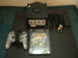Nintendo GameCube Console Jet Black all hook ups +Game - $51.43