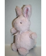 """Little Me BABY EASTER BUNNY RABBIT 8"""" Soft Toy Pink Plush Star Satin Ear... - $35.77"""