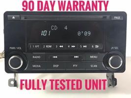 """MI6001"" Mitsubishi Lancer Radio Receiver Cd Bluetooth 8701A405 Tested - $61.25"