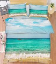 3D Blue Sea 013 Bed Pillowcases Quilt Duvet Cover Set Single Queen King Size AU - $64.32+