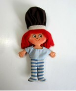 Vintage 1981 Cooky Box Fudge Stripe Flatsy Flat Bendable Bendie Doll by ... - $11.99