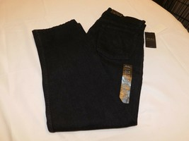 Polo Ralph Lauren Jeans The Thompson Relaxed Stretch 33 X 30 Black Jeans 428001 - $50.78