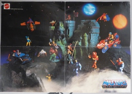 """He-Man, Masters of the Universe Story Poster Mattel, Vintage, 16"""" x 12"""" ... - $88.00"""