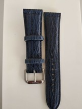 Seiko blue leather strap W22 - $39.60
