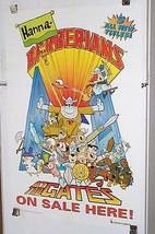 1994 Hanna Barbera poster:Flintstones/Scooby Doo/Frankenstein Jr/Magilla Gorilla - £24.56 GBP