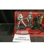 Disney Store Authentic USA Star Wars action fig cake topper playset Forc... - $34.19
