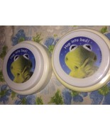 VTG LOT 2 Kermit the Frog Muppets Battery Operated Tap Lights WORK Henson - $19.62
