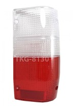 1 RH REAR TAIL LIGHT LENS CLEAR/RED FOR Mitsubishi Mighty Max L200 Trito... - $13.89