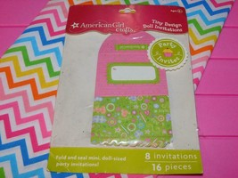American Girl Birthday Invitations Brand New In Package fits Our Generation - $8.90