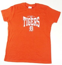 Large Junior Women's Detroit Tigers Tee MLB Shirt by Lady Slugger 01 Distressed