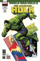INCREDIBLE HULK #717  WORLD WAR HULK II BEGINS  MARVEL  05/30/2018 - $3.49