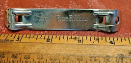 VTG Pabst Blue Ribbon Beer Bottle Can Opener Church Key, Bar Tool, Man Cave, PBR