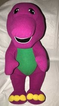 "VINTAGE 71245 Playskool Talking Barney Dinosaur Interactive 1996 Plush 18"" - $29.70"