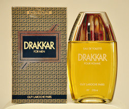 Guy Laroche Drakkar Pour Homme Eau de Toilette Edt 200ml 6.8 Fl. Oz. Spl... - $470.00