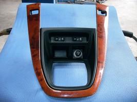 2000 2001 2002 2003 LEXUS RX300 WOODGRAIN DASH RADIO SHIFTER TRIM BEZEL OEM  image 1