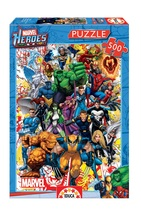 """NEW Educa Jigsaw Puzzle Game 500 Pieces Tiles """"Marvel Heroes"""" - $29.89"""
