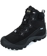 XPETI Women's Dimo Mid Waterproof Hiking Outdoor Boot Black 8.5 - $75.29