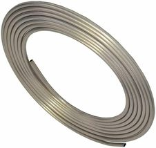 "A-Team Performance 3/8"" Diameter 25' Aluminum Coiled Tubing Fuel Line image 7"