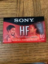 Sony HF 60 Minute Cassette - $17.70