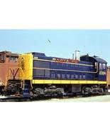 ATSF S2 2338 San Bernardino California Rail 35mm Slide 1972 - $19.79