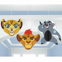 Lion Guard Birthday Party Honeycomb Decoration Balls 3ct - $13.09