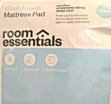 Queen Cooling Waterproof Cool Touch Mattress Pad Room Essentials  STORE -NEW! image 3