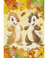 108 pieces jigsaw puzzle 'Chip'n Dale' -autumn feast-(18.2x25.... - $16.30