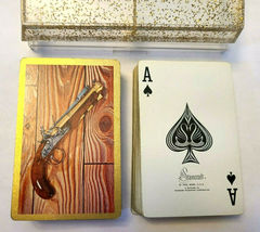 Dueling Pistols by Starcraft Double Deck Playing Cards St Paul Minn image 4