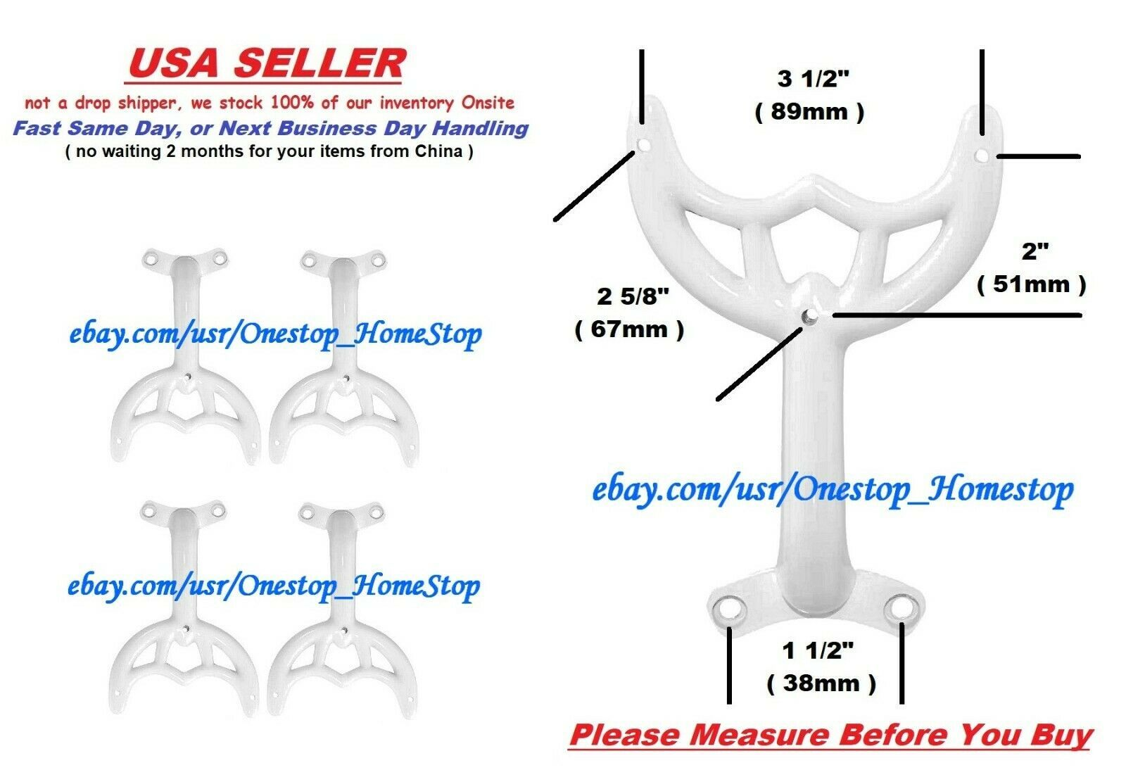 4 36 42 White Ceiling Fan Blade Arms And Similar Items