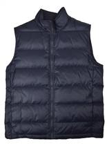 Brooks Brothers Mens Navy Blue Nylon Puffer Vest Jacket Coat Sz Large L ... - $99.97