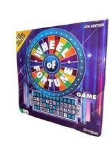 Wheel of Fortune 4th Edition Puzzle Game by Pressman Brand New Sealed - $17.77