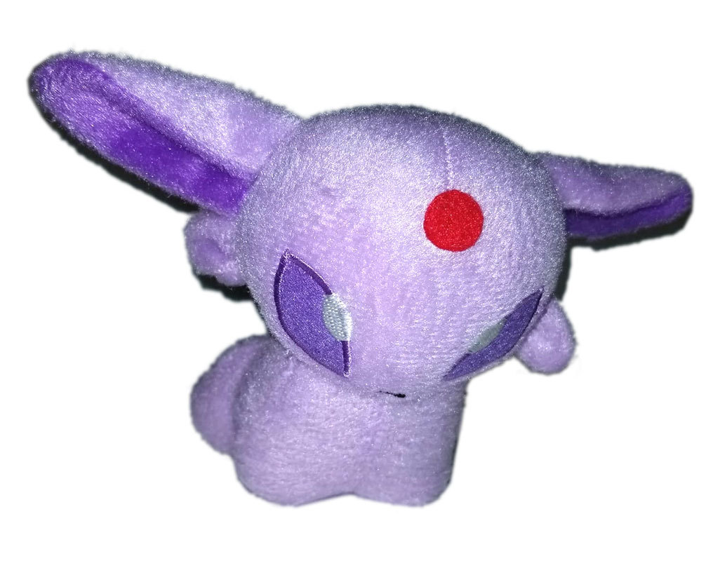"Pokemon ""Chibi Espereon"" Pokemon Center Anime UFO Catcher / Plush * Nintendo"