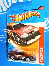 Hot Wheels 2012 Thrill Racers Race Course Series #184 Flight '03 Dk Red ... - $2.00