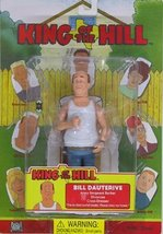 King of the Hill: Bill Dauterive Action Figure - $66.32