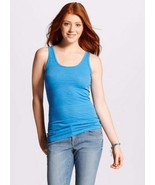 Mossimo Long & Lean Sky Blue Jacquard Textured Tank Top NWT Sizes XS or ... - $9.99