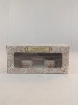 New Open Box Jamestown VA 400th Anniversary Mini Cup And Saucer Set Ship... - $18.69
